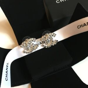 Chanel Silver Studs